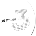Logo 3B wonen woningbouwvereniging