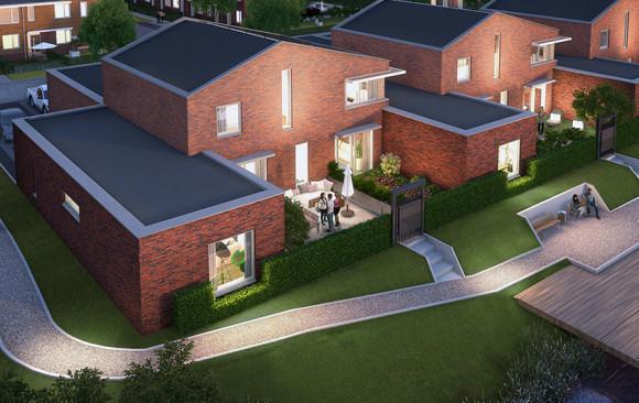 LaVie Vastgoedontwikkeling - Wilgenwende - patiowoningen
